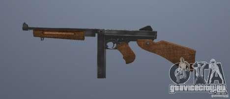 M1 Thompson для GTA San Andreas третий скриншот