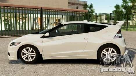 Honda Mugen CR-Z v1.1 для GTA 4 вид слева