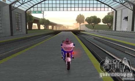 Мотоцикл российской милиции для GTA San Andreas вид справа