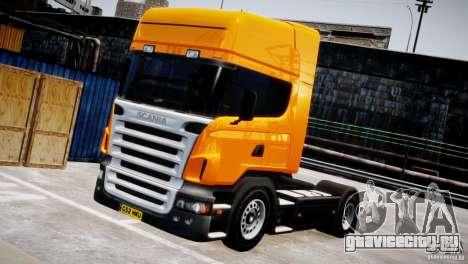 Scania R500 для GTA 4 вид сзади