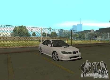 Subaru Impreza WRX STI-Street Racing для GTA San Andreas двигатель