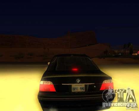 BMW 750i e38 2001 M-Packet для GTA San Andreas вид слева