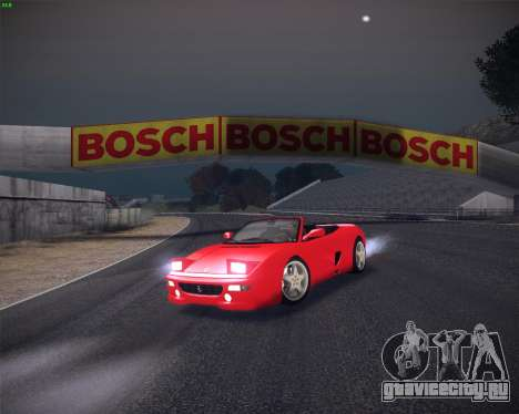 Ferrari F355 Spyder для GTA San Andreas