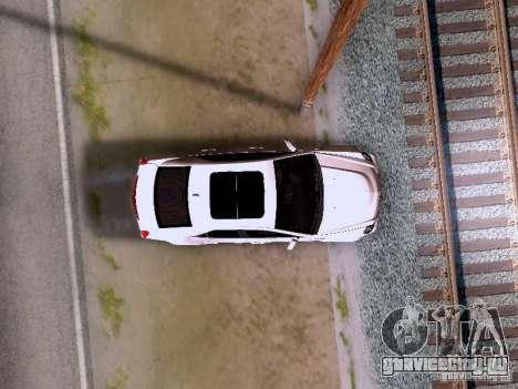 Cadillac CTS-V 2009 для GTA San Andreas вид сбоку