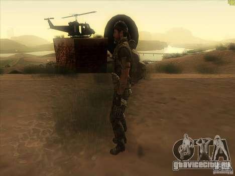 Frank Woods для GTA San Andreas второй скриншот