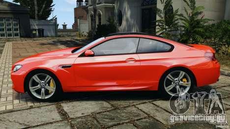 BMW M6 F13 2013 v1.0 для GTA 4 вид слева