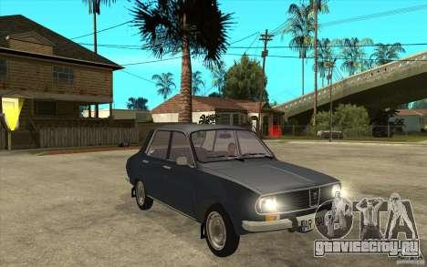 Dacia 1300 v2 для GTA San Andreas вид сзади