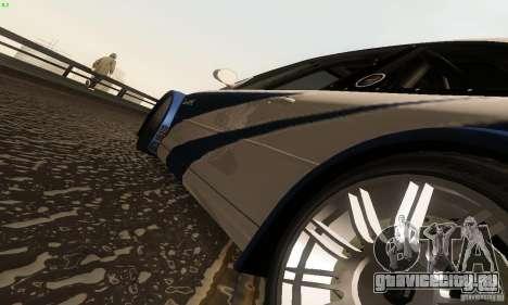 BMW M3 GTR для GTA San Andreas вид сбоку