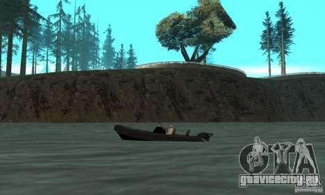 GTAIV Dinghy для GTA San Andreas вид слева