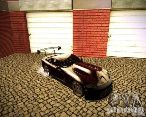 Dodge Viper TT для GTA San Andreas вид сзади