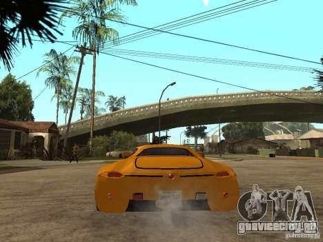 Gillet Vertigo для GTA San Andreas вид сзади слева