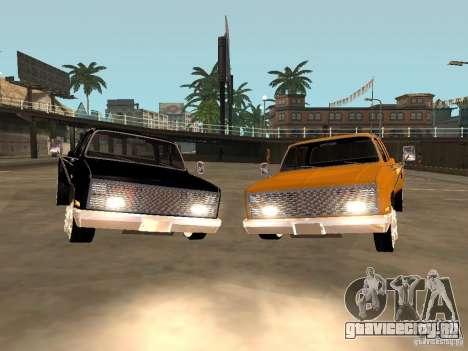 Chevrolet Silverado Lowrider для GTA San Andreas вид сзади слева