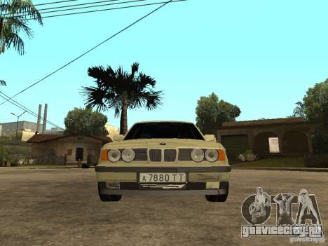 BMW 520i для GTA San Andreas вид справа