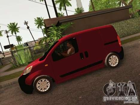 Peugeot Bipper для GTA San Andreas вид справа