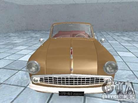 Москвич 403 Cabrio для GTA San Andreas вид справа