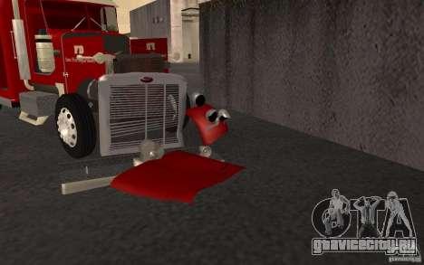 Peterbilt 379 Fire Truck ver.1.0 для GTA San Andreas вид сверху
