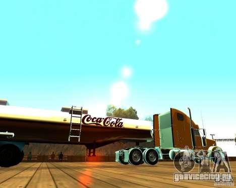 Прицеп Coca-Cola для GTA San Andreas вид слева