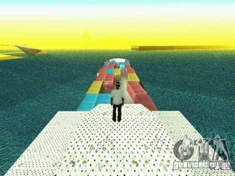 Drivable Cargoship для GTA San Andreas третий скриншот