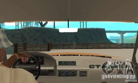 Ford F-350 1992 для GTA San Andreas вид сзади