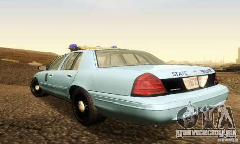 Ford Crown Victoria Maine Police для GTA San Andreas вид слева