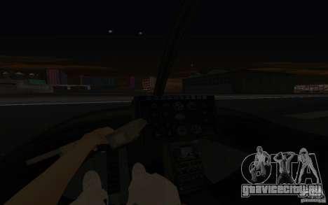 GTA IV Police Maverick для GTA San Andreas вид сбоку