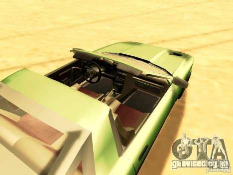 Toyota Supra для GTA San Andreas вид сзади