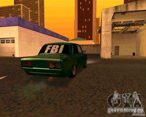 ВАЗ 2107 Бродяга v.1 для GTA San Andreas вид слева