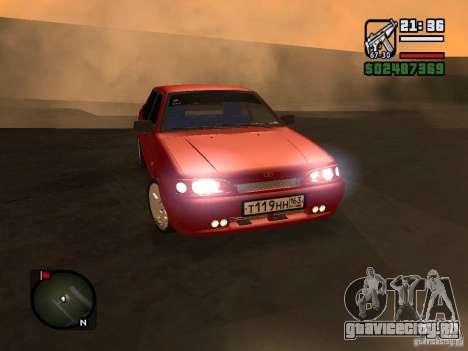 ВАЗ 2115 ФЫР Beta для GTA San Andreas