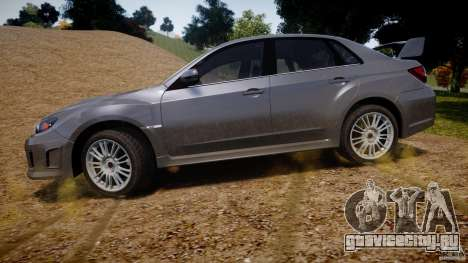 Subaru Impreza WRX STi 2011 для GTA 4 салон