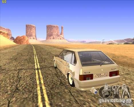 ВАЗ 2109 Тюнинг для GTA San Andreas вид слева