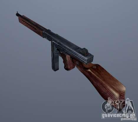 M1 (пистолет-пулемет Томсона) (v1.1) для GTA Vice City второй скриншот