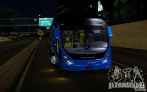 Marcopolo Viale BRT 0500M для GTA San Andreas вид сзади слева