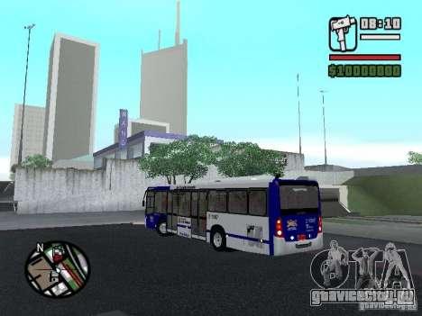 Busscar Urbanuss Ecoss MB 0500U Sambaiba для GTA San Andreas вид сзади слева