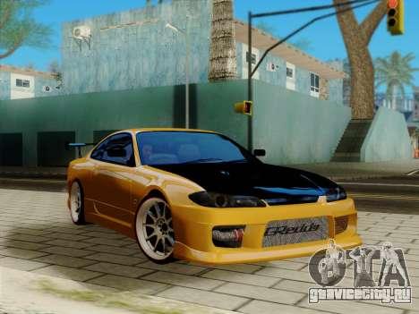 ENB v1.2 by TheFesya для GTA San Andreas второй скриншот
