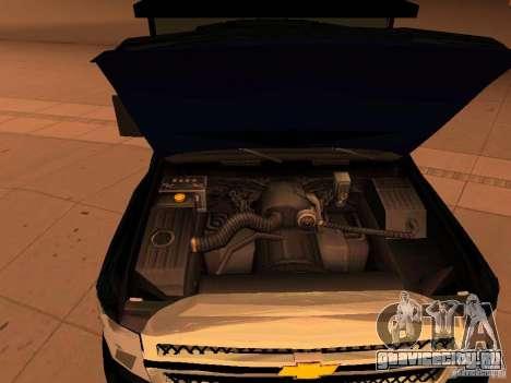 Chevrolet Silverado HD 3500 2012 для GTA San Andreas вид изнутри