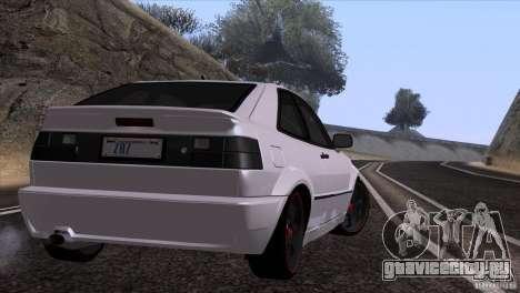 Volkswagen Corrado VR6 для GTA San Andreas вид сзади