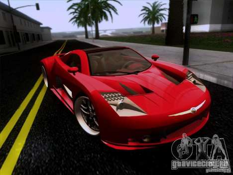 Chrysler ME Four-Twelve для GTA San Andreas