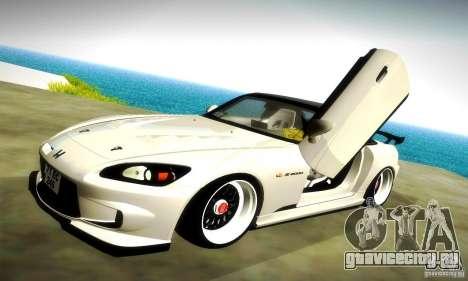Honda S2000 JDM Tuning для GTA San Andreas колёса