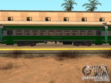 ЭД9М 0132 для GTA San Andreas вид сзади слева