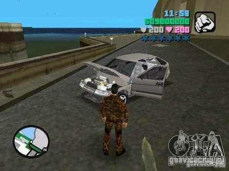 ВАЗ 2112 для GTA Vice City вид справа