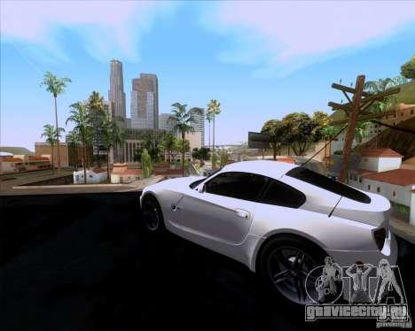 BMW Z4 M Coupe для GTA San Andreas вид слева