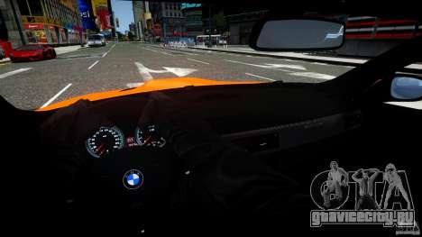 BMW M3 GT-S для GTA 4 вид сверху