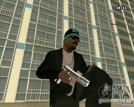 Chrome Weapon Pack для GTA San Andreas второй скриншот