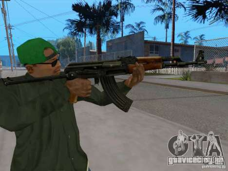 AKC - 47 HD для GTA San Andreas четвёртый скриншот