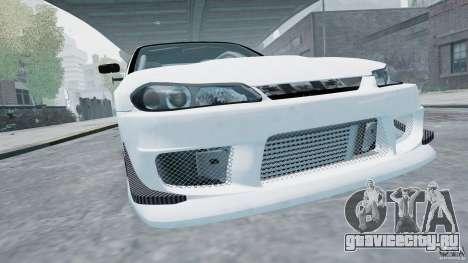 Nissan Silvia S15 для GTA 4 вид сзади слева
