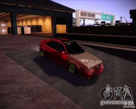 Volkswagen Corrado Rathella для GTA San Andreas вид сзади