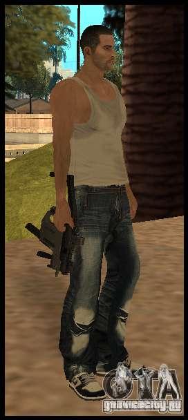 [Point Blank] KRISS SUPER V [Black] для GTA San Andreas второй скриншот