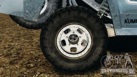 Hummer H3 raid t1 для GTA 4 вид сбоку