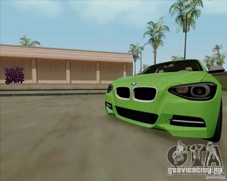 BMW M135i V1.0 2013 для GTA San Andreas салон