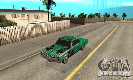 Pontiac GTO 1965 Speed King-NFS Pro Street для GTA San Andreas